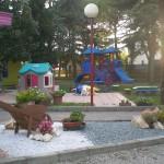 Il giardino della Scuola dell'Infanzia