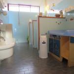 Uno dei bagni del Nido Integrato